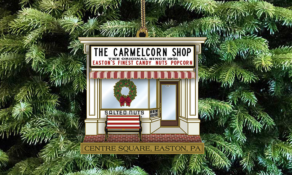 Easton Main Street Initiative Picks Sweet Landmark for This Year's Limited Edition Ornament