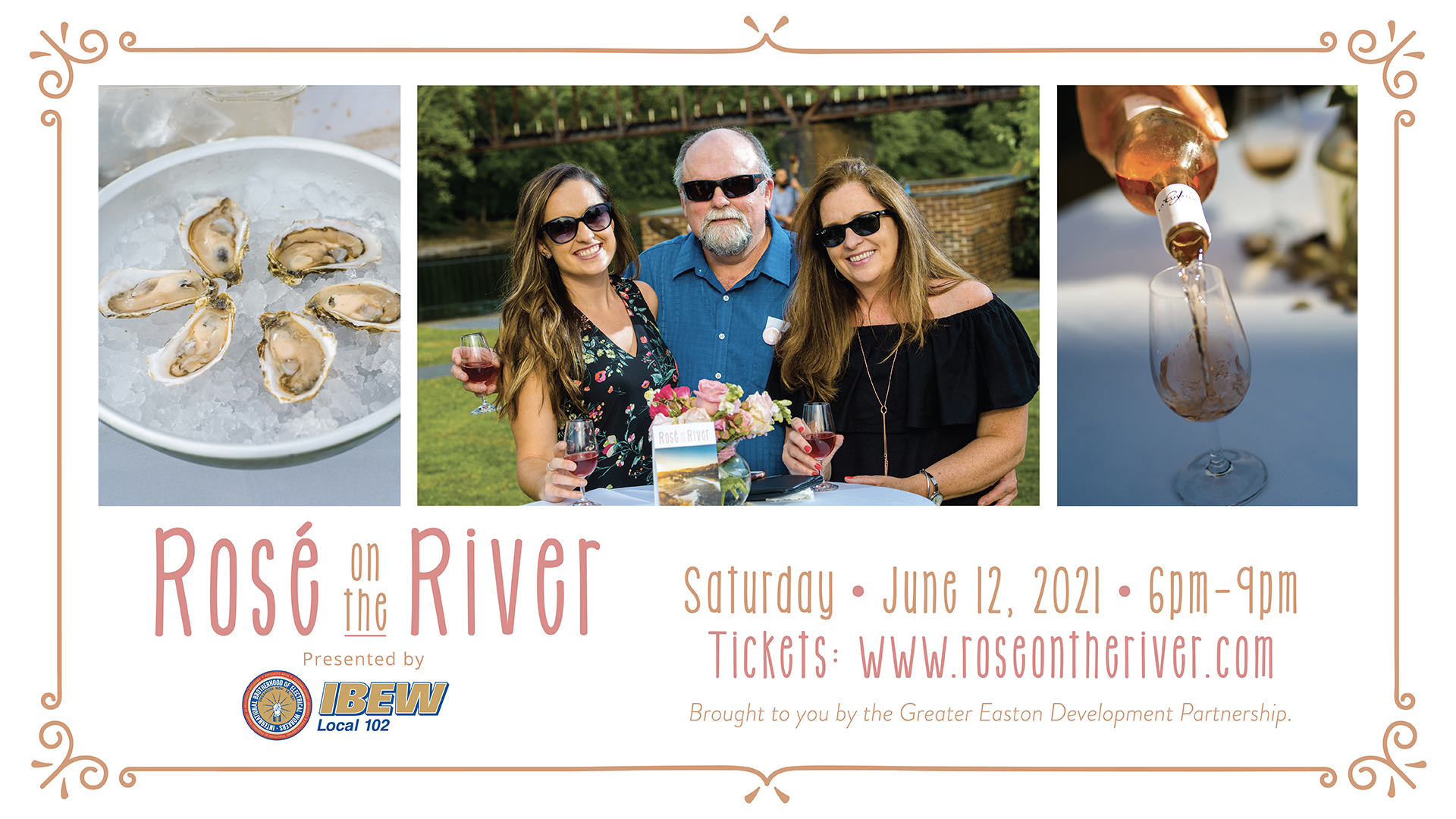Rosé on the River Will Offer International Wines, Oysters & More