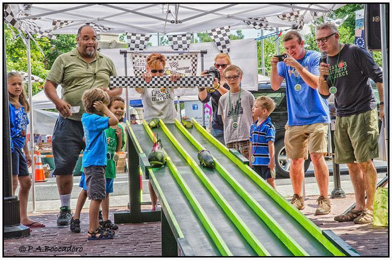 Zucchini 500 Zooming Back to Easton Farmers' Market