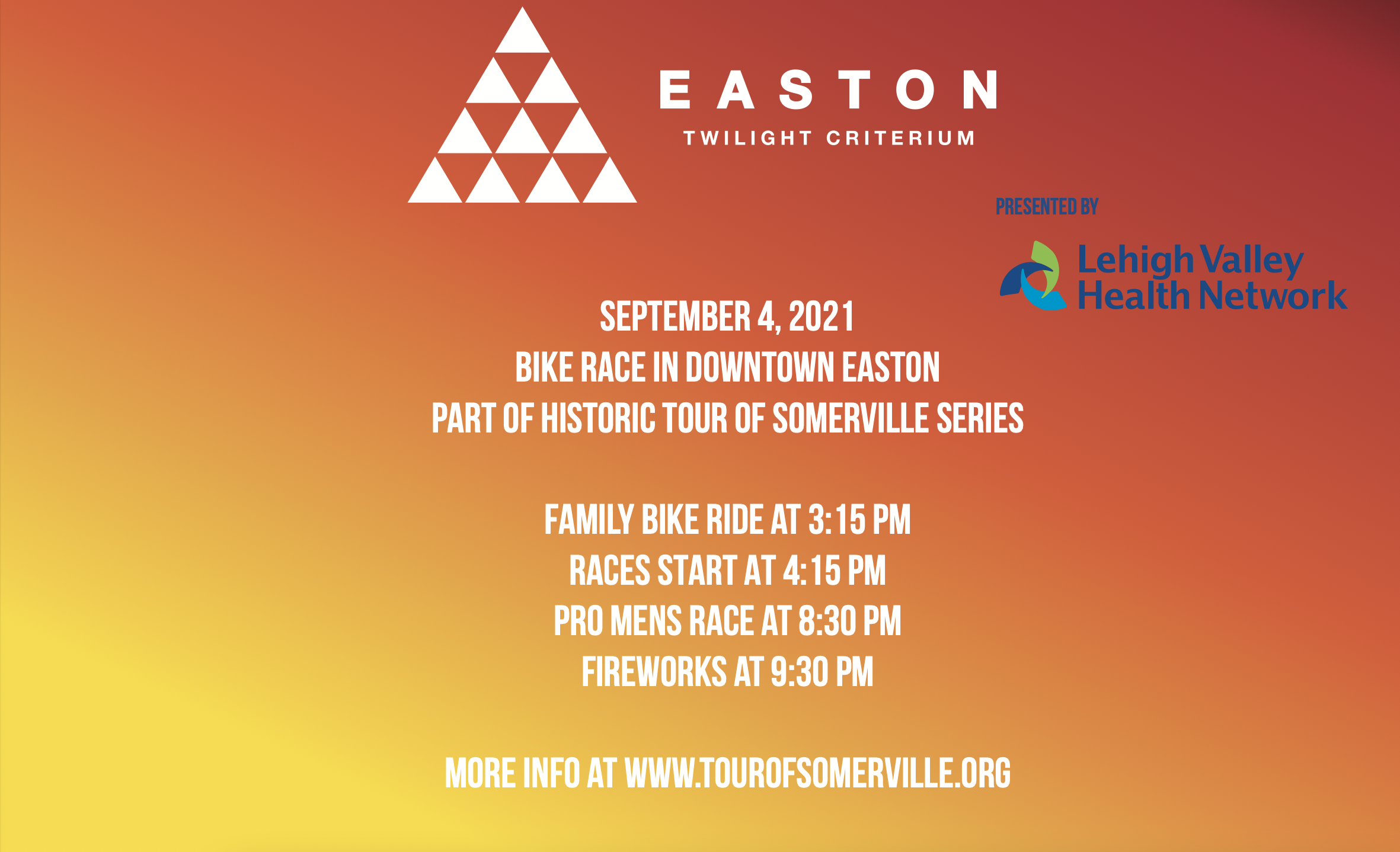 Reserve a Seat to Dine Outdoors for the Easton Twilight Criterium